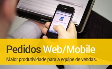Pedidos Web e Mobile