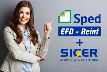 Primeira entrega do EFD-REINF pelo ERP SIGER® foi um sucesso!