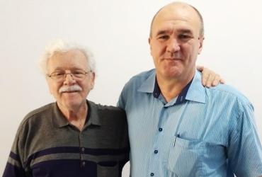 Diretores Mauro (Meneghetti) e Carlão (Rech Informática).