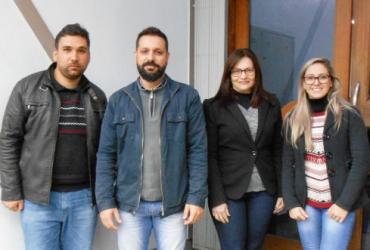 Novos colaboradores da Equipe Rech