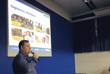 Rech participou da Hora da Tecnologia na Universidade Feevale