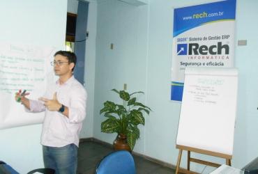 Rech realiza aperfeiçoamento em Gerenciamento Ágil de Projetos com Scrum