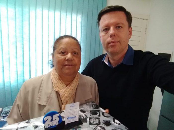 Homenagem Cliente 25 anos Leica Moreira