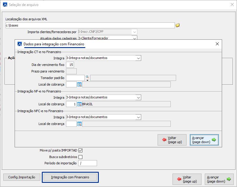 Importação Automática XML Nfse e Nfe