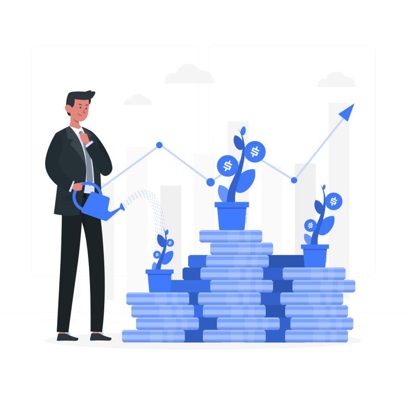 Alocação inteligente no planejamento financeiro.