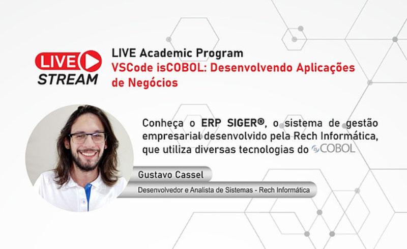 Desenvolvedor da Rech participará de Live sobre isCOBOL