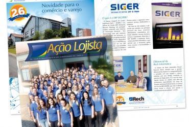 Rech Informática é destaque da Revista Ação Lojista do CDL