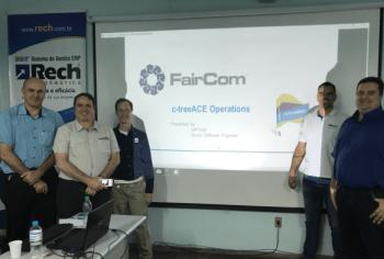 Rech Informática recebe visita da Faircom